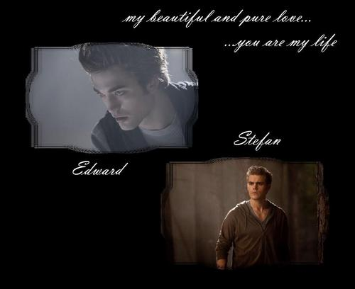 Edward and Stefan