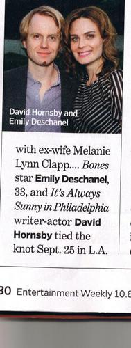Emily & David's Wedding: Entertainment Weekly