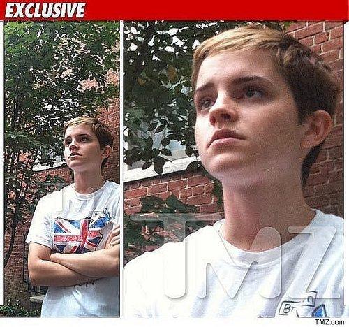 Emma Watson at Brown