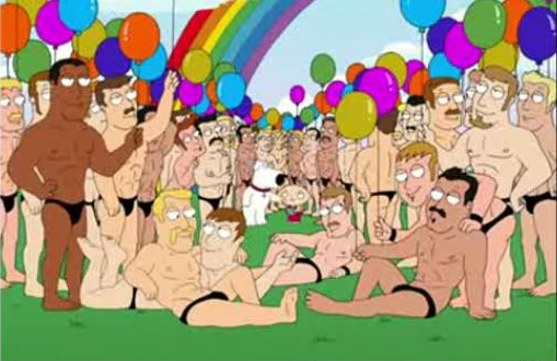 Who is the gay guy on family guy