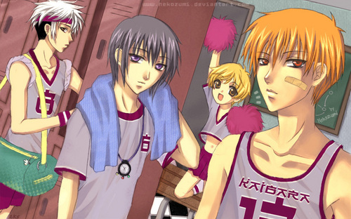Fruits Basket boys