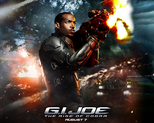 Action Films fondo de pantalla probably with a fuego and anime entitled G.I. Joe: Rise of cobra