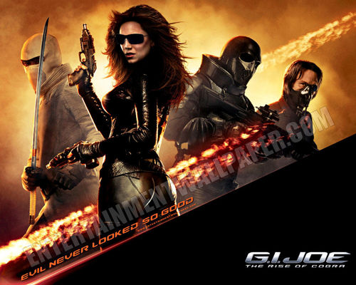 Action Films fondo de pantalla possibly with a concierto and anime titled G.I. Joe: Rise of cobra