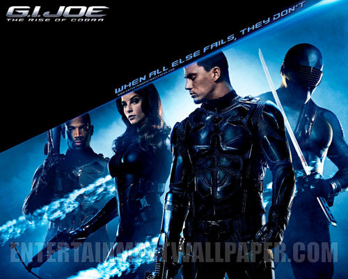 Action Films fondo de pantalla entitled G.I. Joe: Rise of cobra