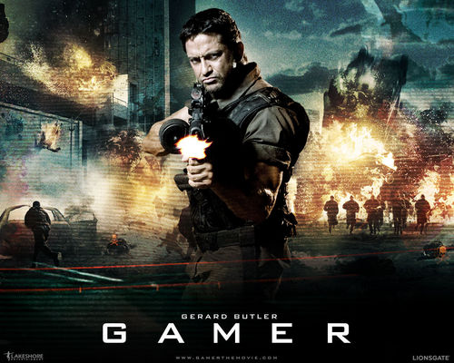 Action Films fondo de pantalla with anime titled Gamer