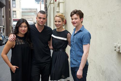 Glee press conference 2010