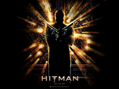 Action Films fondo de pantalla with a fuente titled Hitman