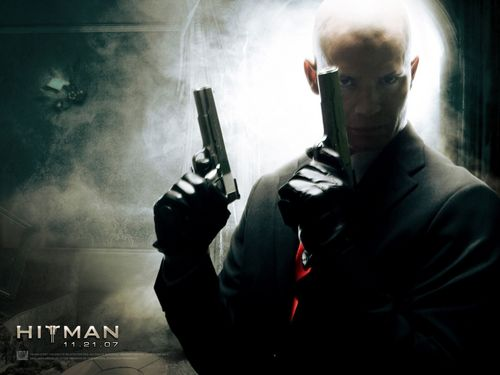 Action Films fondo de pantalla containing a fusilero, rifleman titled Hitman