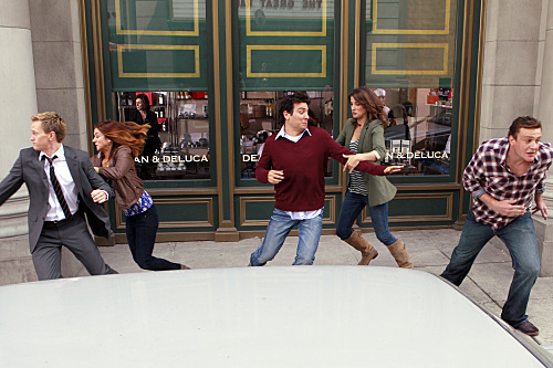 How I Met Your Mother - Episode 6.04 - Subway Wars - Promotional foto's