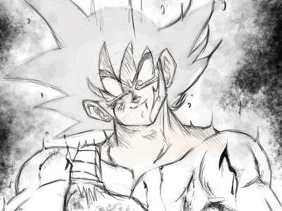 Insane Bardock sketch