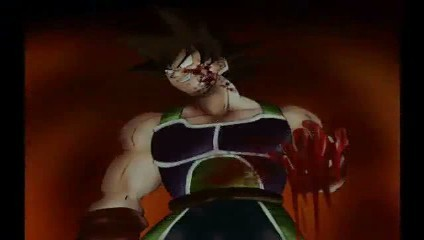 Insane bloody Bardock!