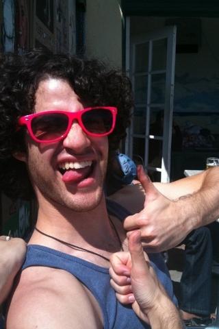 It's Darren, b**ch