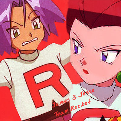 James & Jesse .. Team Rocket :)