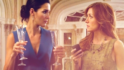 Rizzoli & Isles wallpaper probably with a portrait titled Jane & Maura 1x05