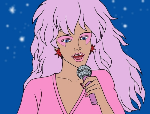 Jem Singing - jem-and-the-holograms Fan Art
