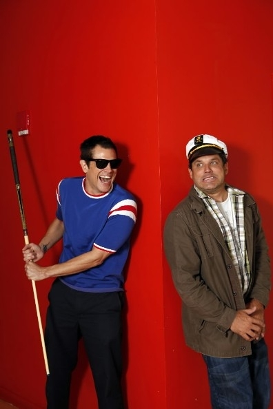 Johnny Knoxville & Jeff Tremaine Photoshoot for The Chicago Tribune