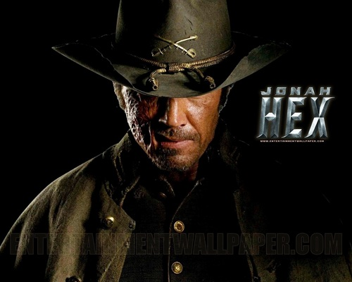 Action Films wallpaper containing a snap brim hat, a campaign hat, and a fedora titled Jonah Hex