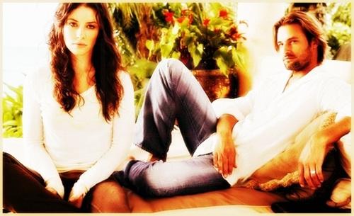 Josh Holloway & Evangeline Lilly