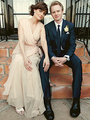 Just Married!  Newlyweds Emily Deschanel and David Hornsby - celebrity-couples photo