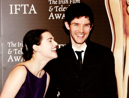 Katie and Colin