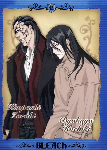 Kenpachi and Byakuya