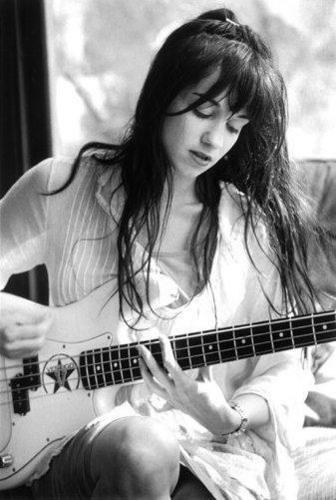 Kristen Pfaff of Hole - female-rock-musicians Photo