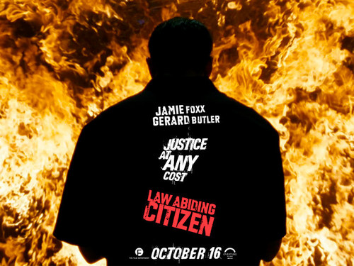 Action Films wallpaper possibly containing a switer lengan panjang, kaus entitled Law Abiding Citizen
