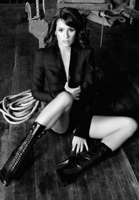 Lea Michele fotografia Shoot