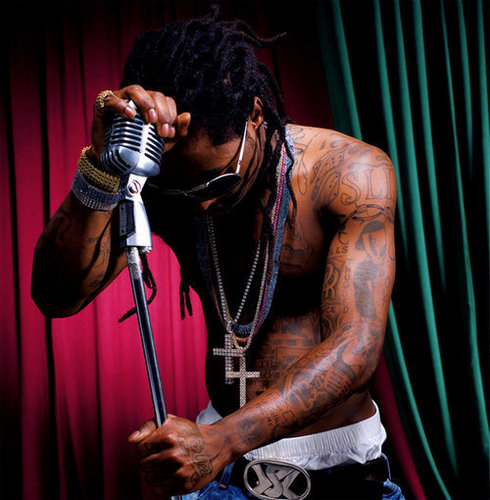 Lil' Wayne wallpaper probably containing a concert entitled Lil Wayne
