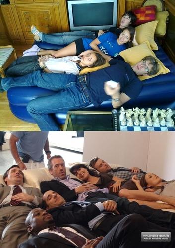 Making off- our ベッド photoshoot @SolitudeGirl @Irene3691 @PauGranger @diego27rg xDD