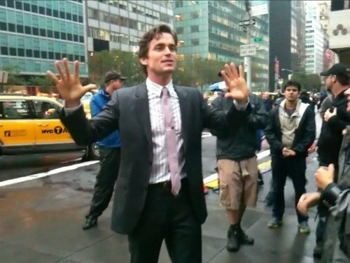 Matt Bomer Hintergrund with a business suit, a business district, and a suit called Matt