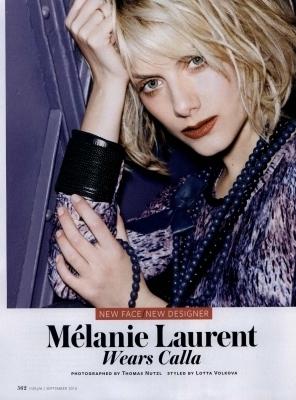 Melanie - InStyle (September 2010)