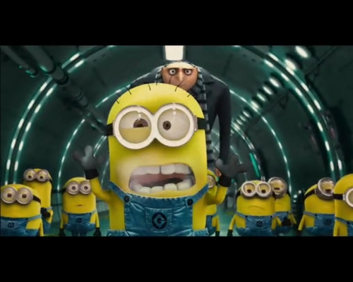 Despicable Me Minions wallpaper probably with anime called Minions!