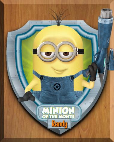 Despicable Me Minions پیپر وال titled Minions!