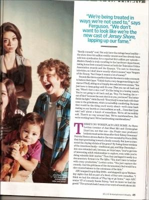 Modern Family in EW Magazine