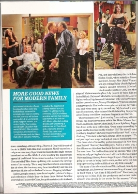 Modern Family in EW Magazine