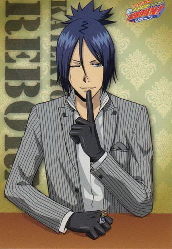 Mukuro Rokudo wallpaper containing a business suit and anime called Mukuro