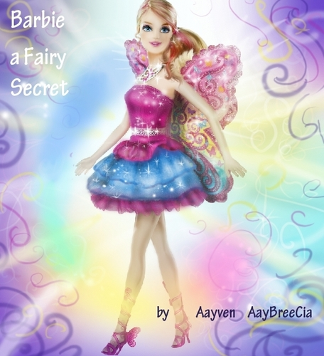 My New Work !! Barbie A Fairy secret !!