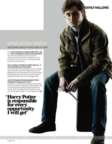 New Harry, Ron, and Hermione studio promos from Total Film magazine