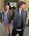 Orlando Bloom &amp; Miranda Kerr: Balenciaga Fashion Show! - miranda-kerr photo