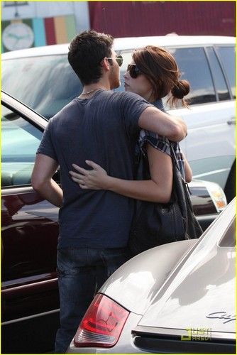 Ashley Greene wallpaper containing an automobile called Out with Joe