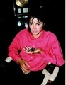 RARE: cute Mj, pinky face and a spider  - michael-jackson photo