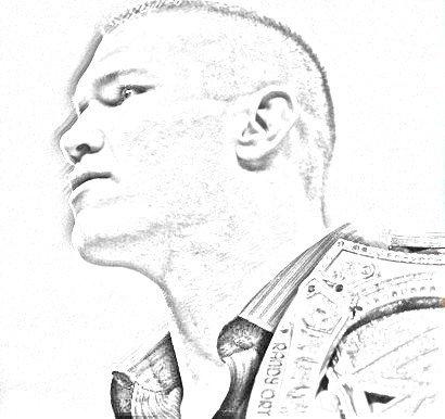 Randy Orton Sketch