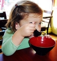 Renesmee trying soup