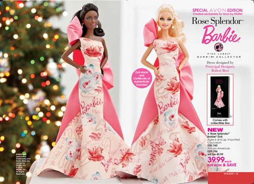 Rose Splendor barbie