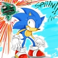 SPIIIN!! - sonic-colors fan art