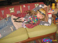 Sam as a napping hobo - samantha-puckett photo