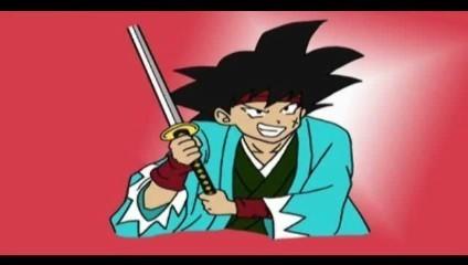 Samurai Bardock!