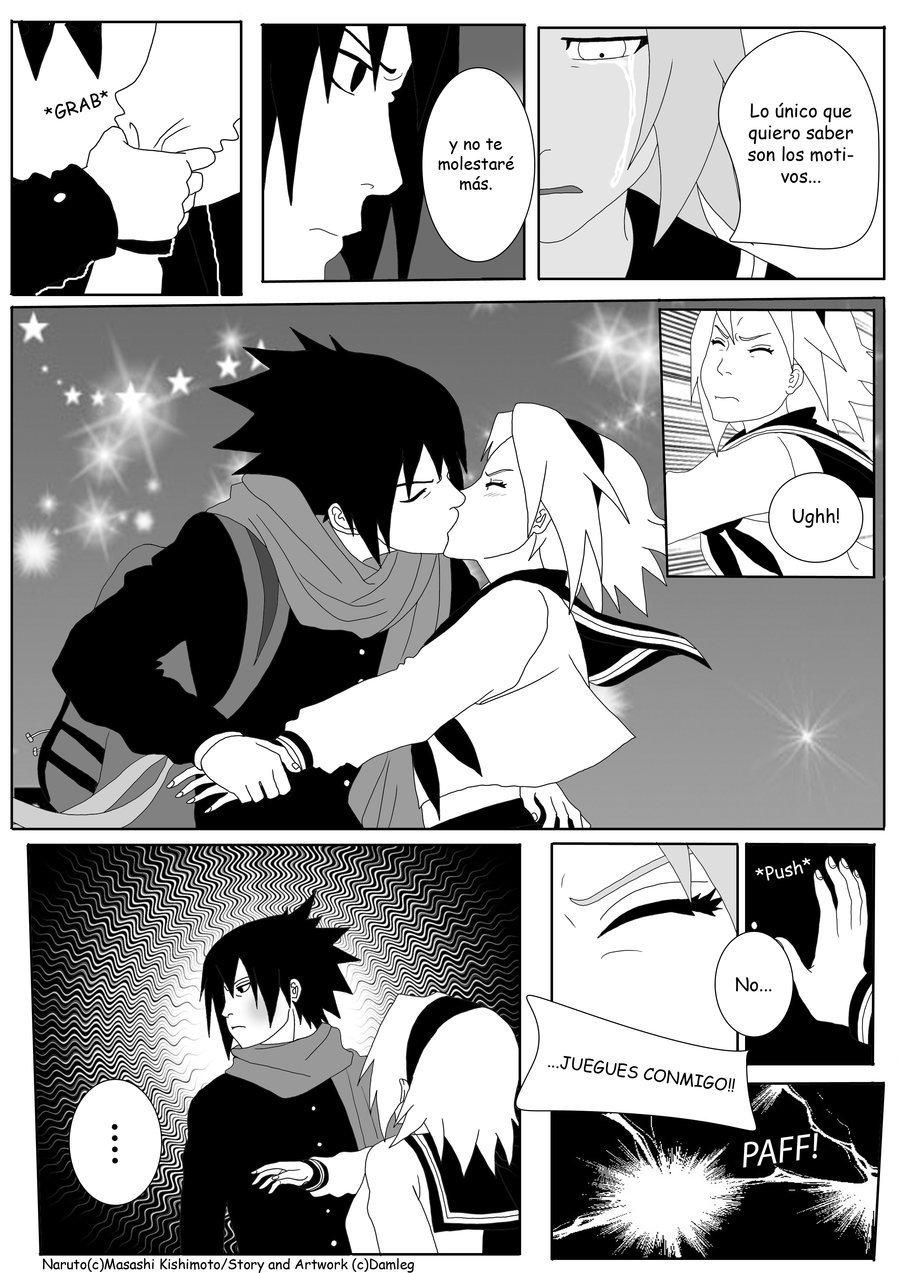 Manga Naruto Konoha High School (манга Наруто: старшая школа) Страница 6.pn