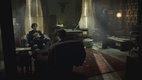 Sherlock-1x03 The Great Game - benedict-cumberbatch Screencap